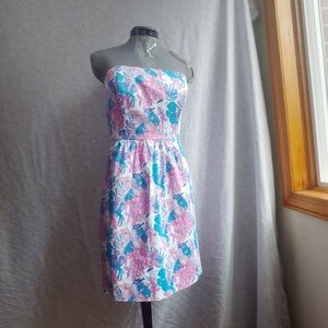 Vineyard Vines Short Strapless A-Line Dress Size 4